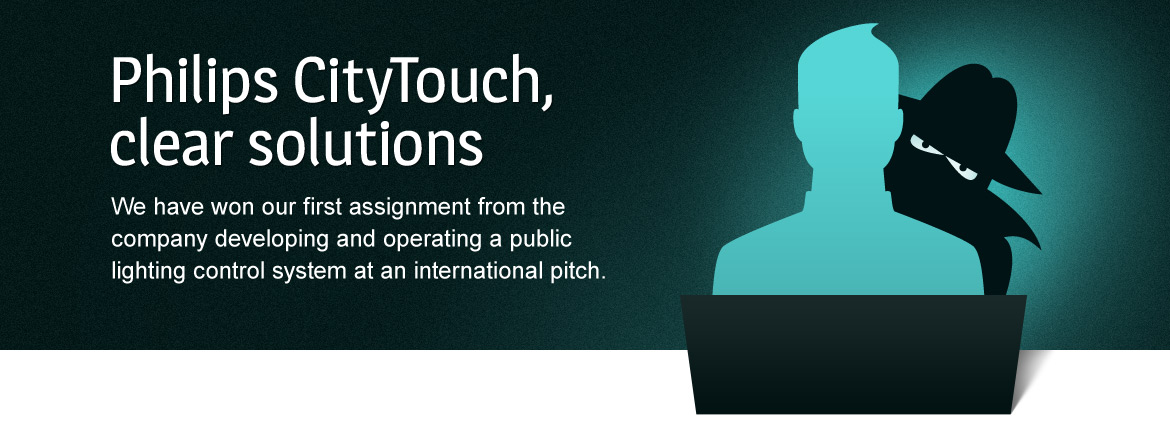 Philips CityTouch, clear solutions