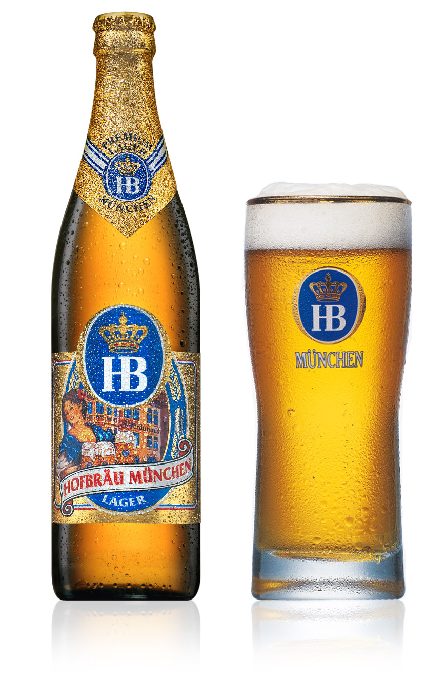 Commercial logos - food  drink - hb beer munchen